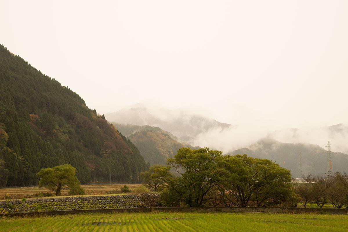 鳥取県山間部