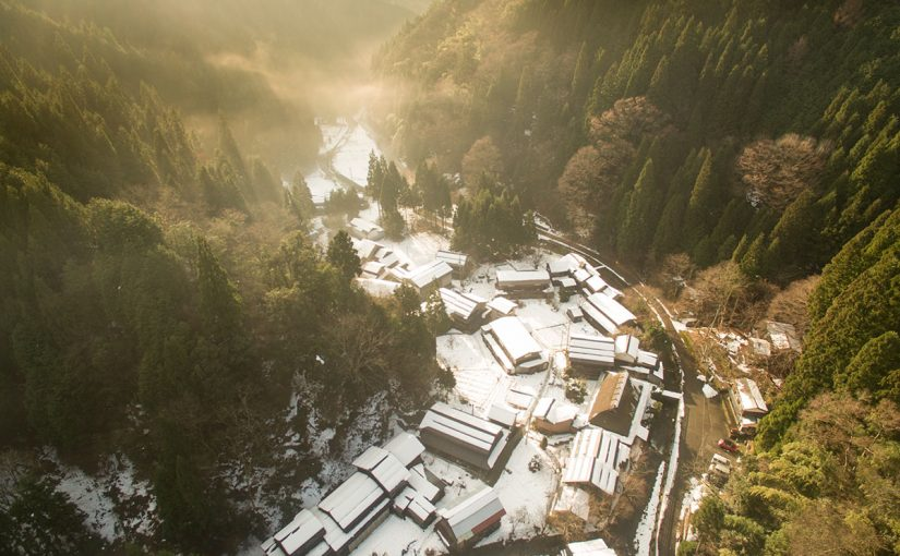 鳥取の限界集落、板井原集落へ行ってきました