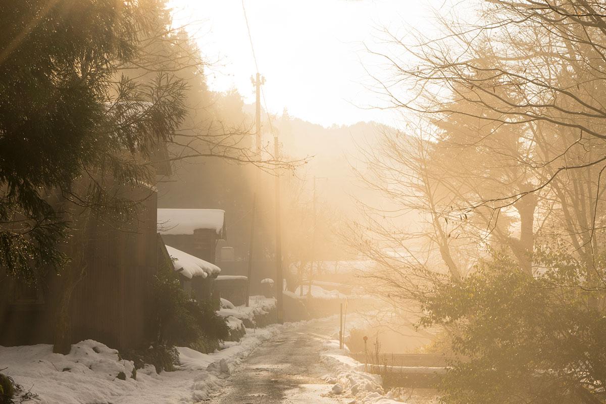 集落内の主要通路