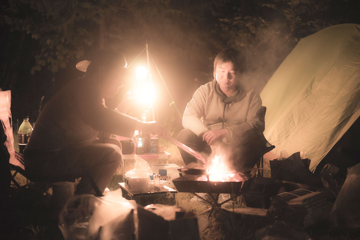 焚き火とマインドフルネス