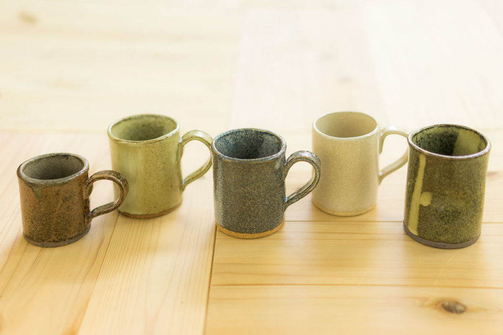 ジビエっぽい珈琲カップ・皿について