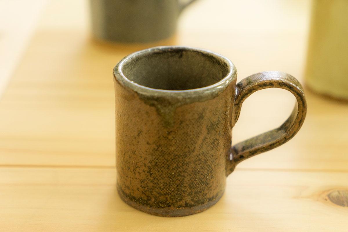 ジビエっぽいコーヒーカップ