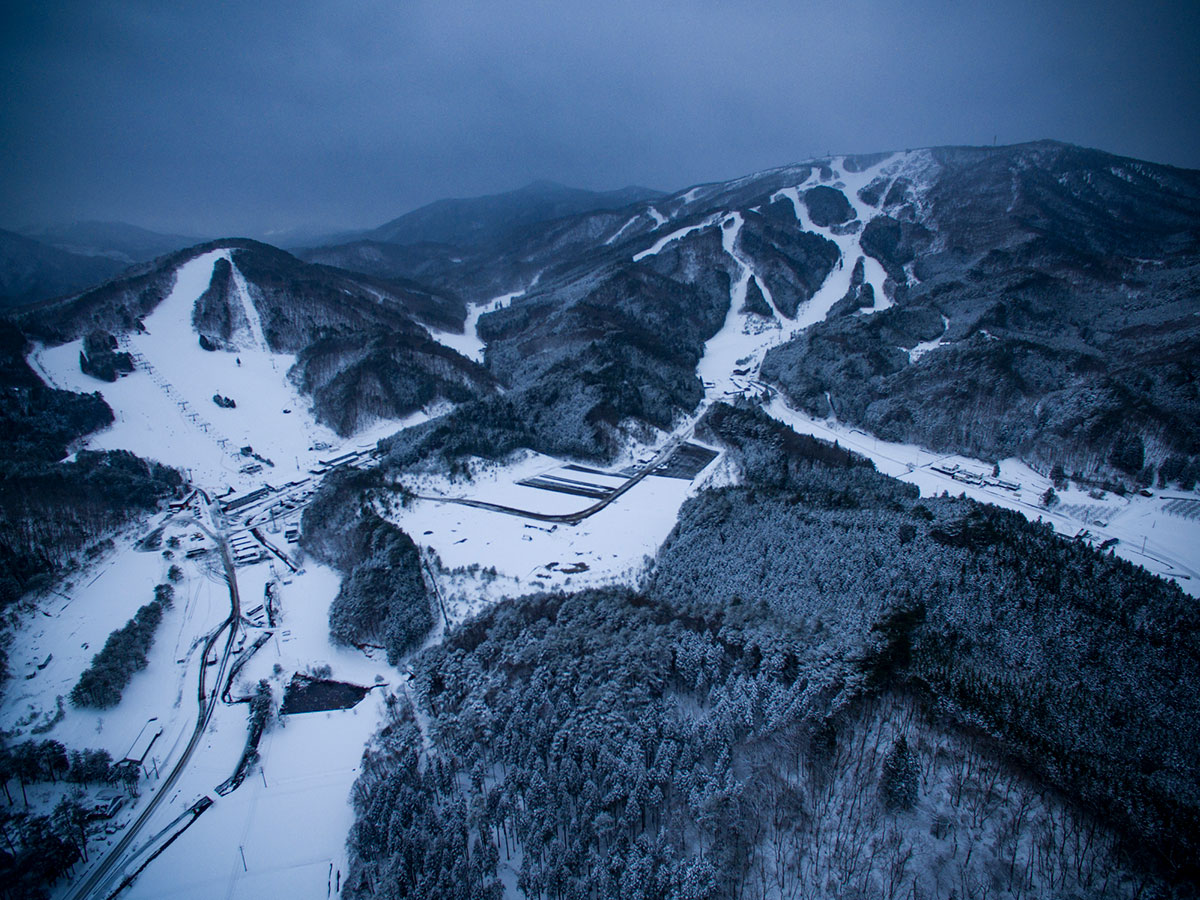 広島県北の豪雪地帯 芸北