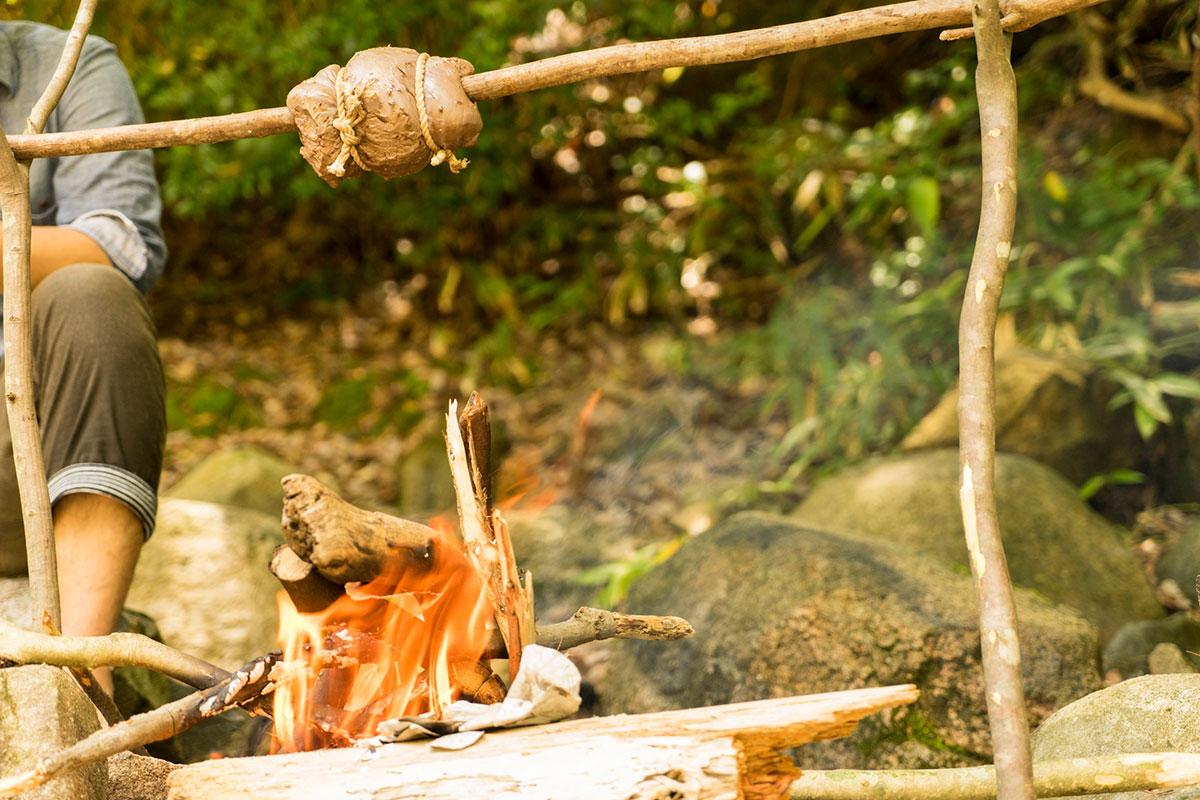 シンタマの炙り焼き