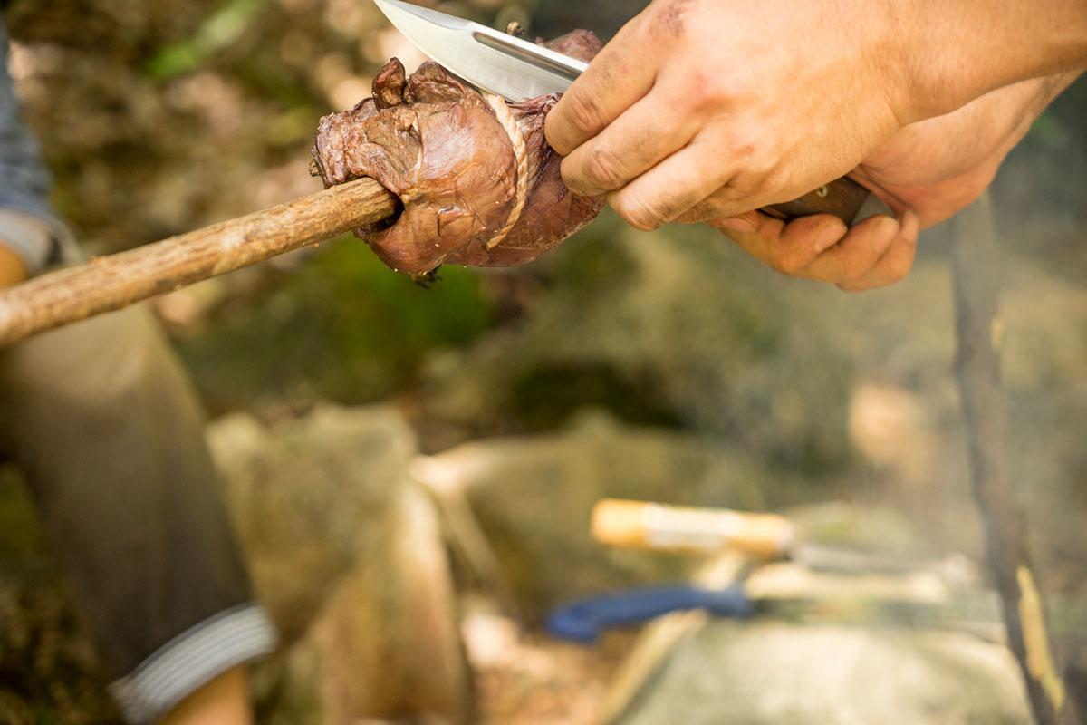 鹿モモ肉はアスリートに最適の食材