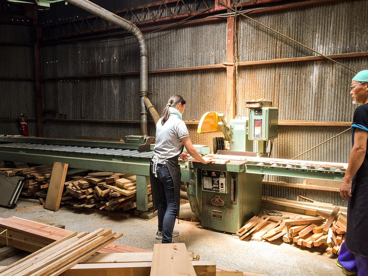 一場木工所