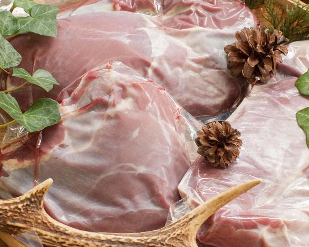 広島産の鹿モモ肉