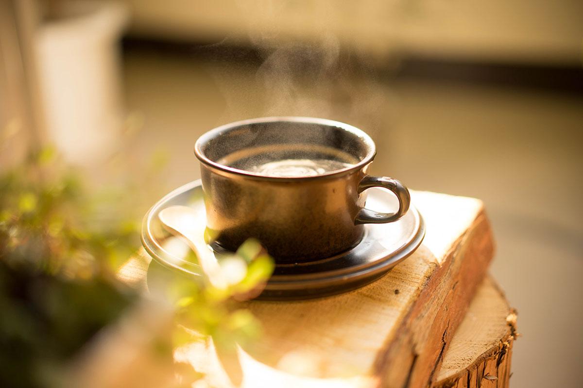 コーヒーを置いても良い