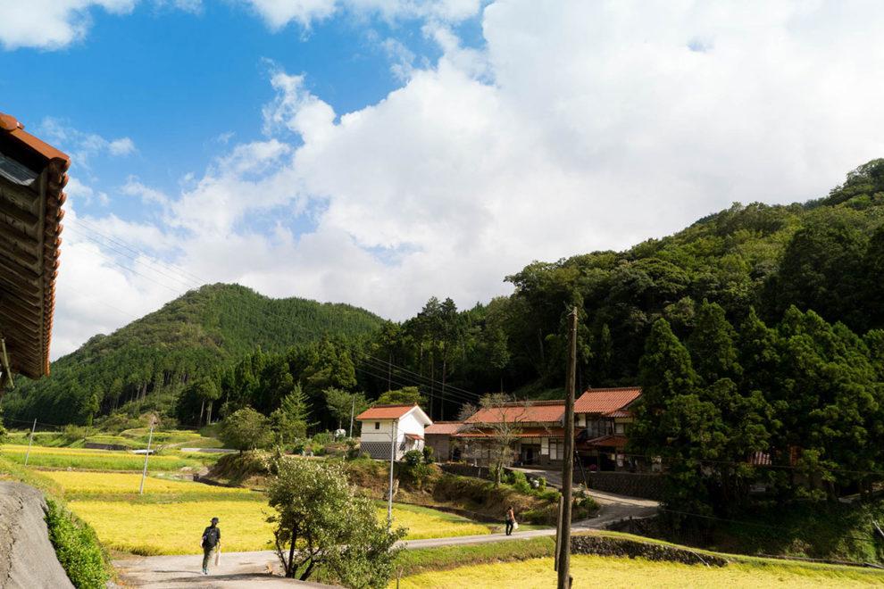 邑南町の里山風景