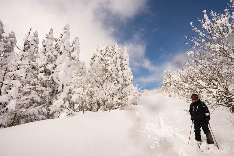 山頂登り口 恐羅漢