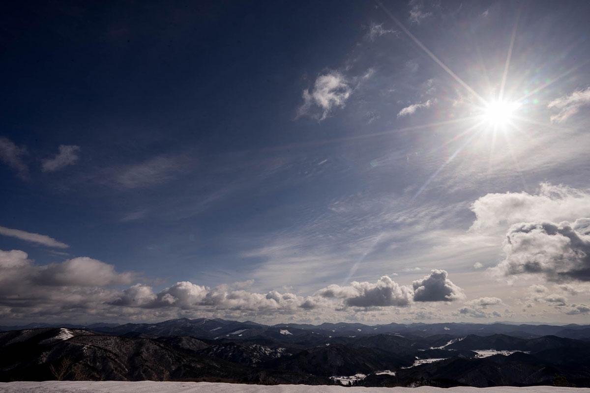 大佐山山頂からの景色