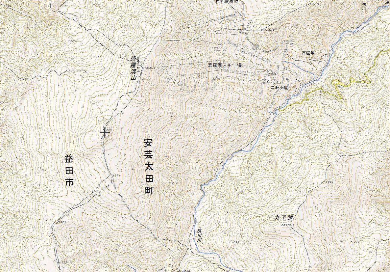 旧羅漢山周辺マップ