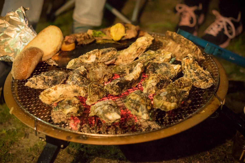 瀬戸内海の牡蠣