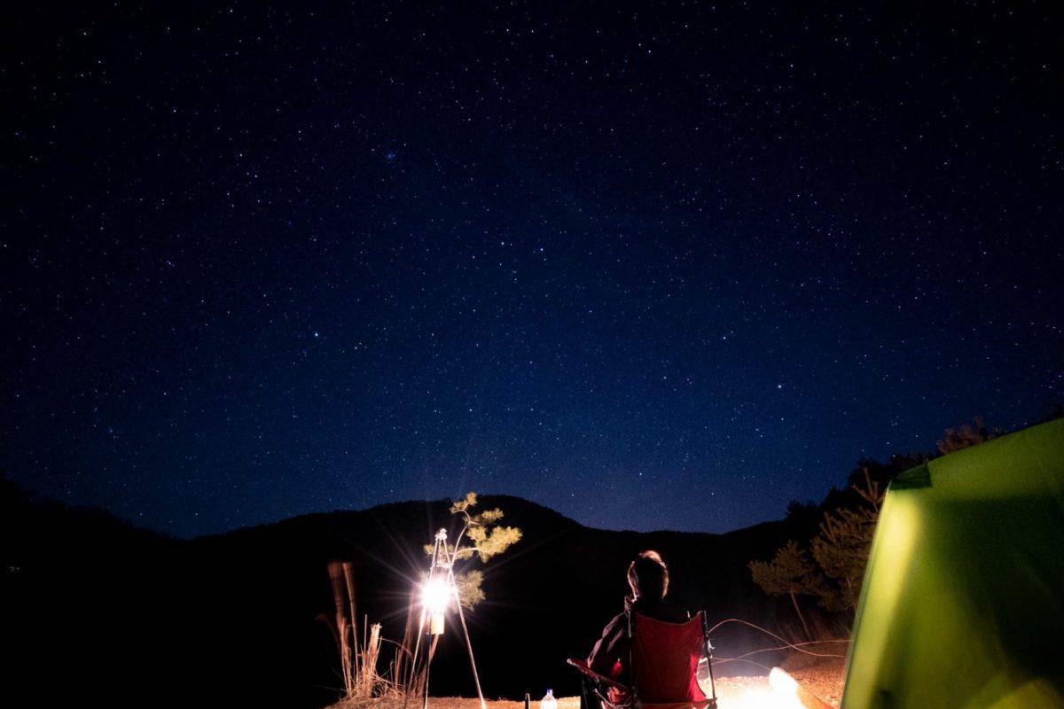 聖湖でカメラ水没-「野営の人 Vol.10」