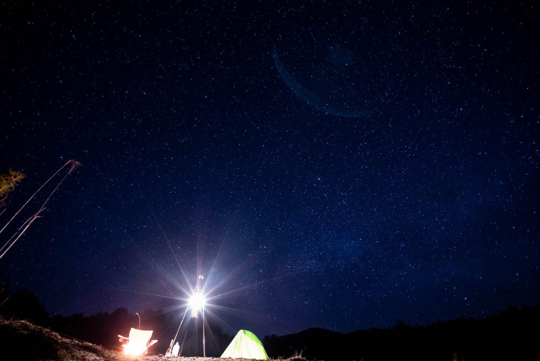 聖湖の星空