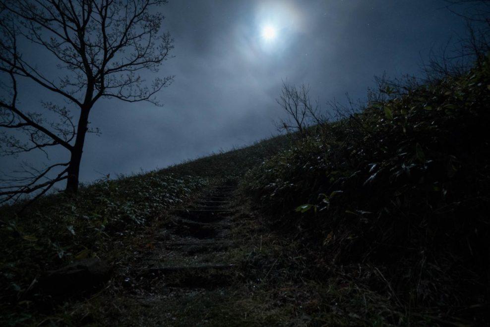 夜の深入山