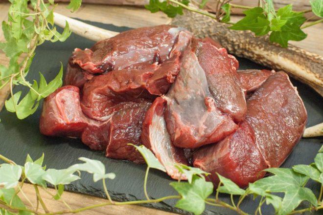 ペット用の鹿肉