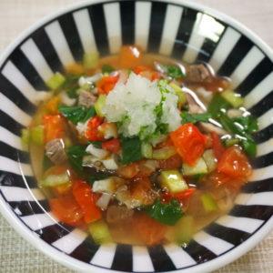春のデトックススープ