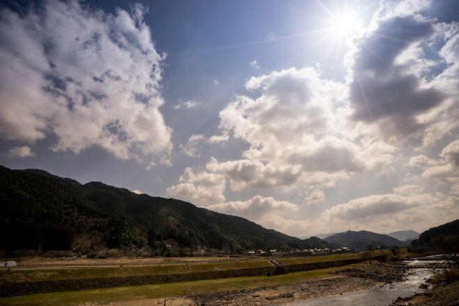 福岡県南部西の田園地域