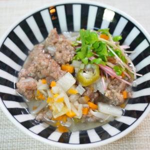猪団子のほっこり鍋