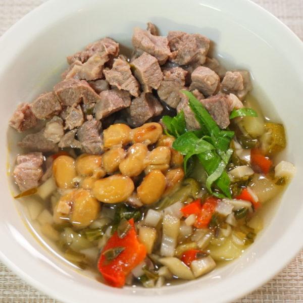 胃腸ケアに♪温活スープ