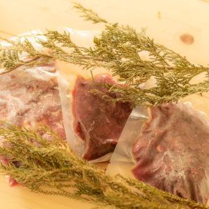 ペット用の鹿肉・猪肉