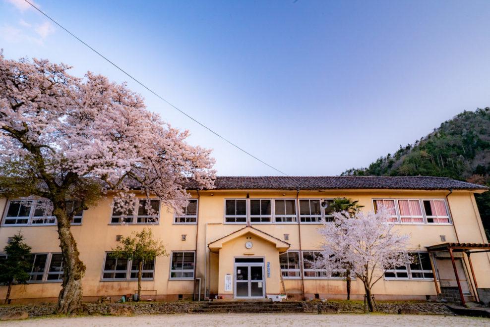 旧津浪小学校