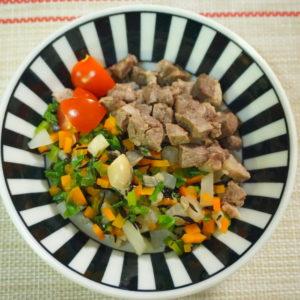 ひじきと豆の煮つけ