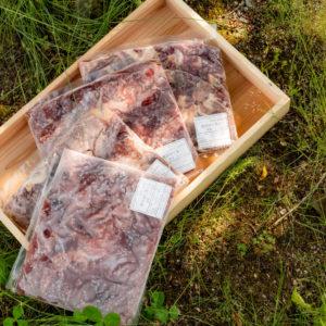 鹿肉・猪肉セット2kg ペット用