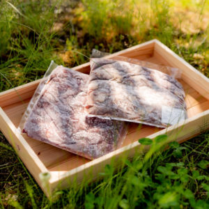 鹿肉と猪肉のセット