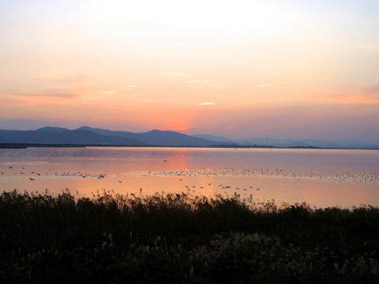 諫早湾の景色