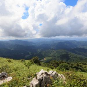 四国カルスト 西予エリアの風景