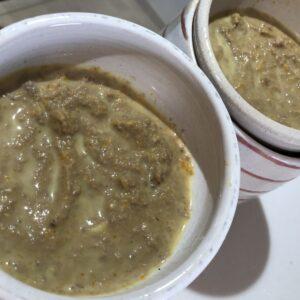 鹿肉の豆乳ポタージュ