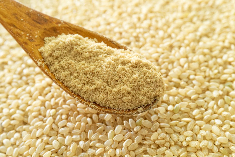 無農薬玄米の糠(ぬか)