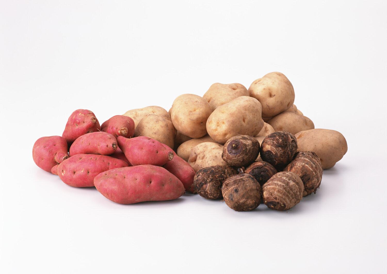 食物繊維豊富な イモ類 根菜類