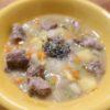 鹿肉と秋野菜の煮物