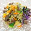 鹿肉と野菜のナムル