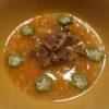 猪肉とかぼちゃのオートミール粥